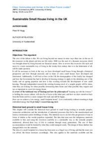 BRE Housing Design Handbook