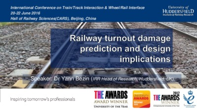 Railway turnout damage prediction and design implications